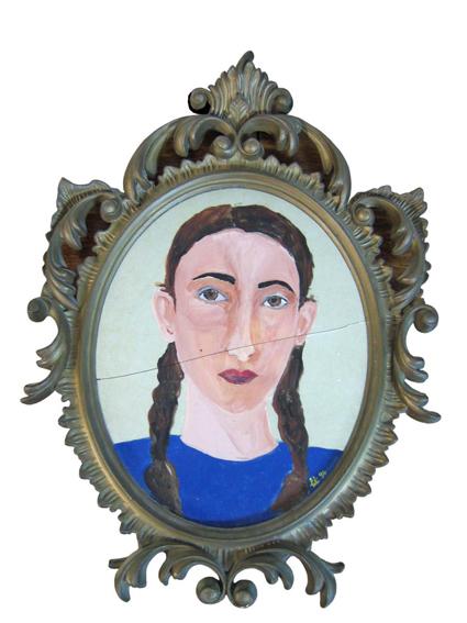 Peinture autoportraits 1998 for Autoportrait miroir